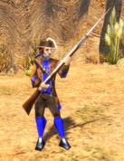 Colonial Militia model