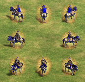 Khan unit view aoe2DE