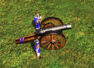 Heavy Cannon Bombard side model