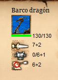 HUD del Barco Dragón