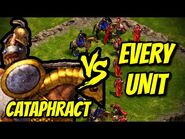 CATAPHRACT vs EVERY UNIT - Age of Empires- Definitive Edition
