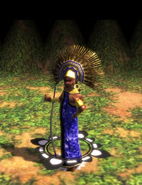 Aztec war chief idle aoe3