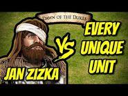 JAN ZIZKA vs EVERY UNIQUE UNIT - AoE II- Definitive Edition