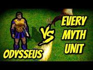 ODYSSEUS (Hero) vs EVERY MYTH UNIT - Age of Mythology