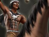 Mapuche Bolas Rider
