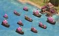 All warships DE