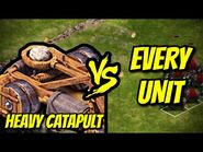 HEAVY CATAPULT vs EVERY UNIT - Age of Empires- Definitive Edition