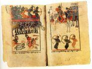 Persian-elephants vs Armenian-riders