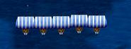 Grupo de barcos vikingos o dragón