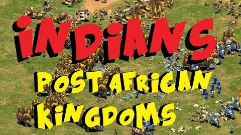 Indians (post African Kingdoms)