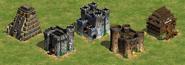 AoeII Castles