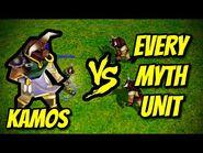 KAMOS vs EVERY MYTH UNIT - Age of Mythology