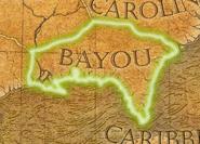 Bayou map