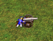 Field gun bombard mode