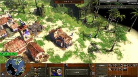 Age of empire 3 Campaña Acto 1 Misión 3 En español (voces y texto)