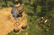 Cherokee War Hut