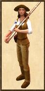 Amelia Black history portrait