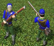 Skirmisher guard DE model