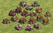 New houses de castle