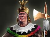 Inca War Chief