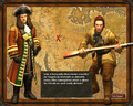 Warwick and John Black on Bring Down the Mountain scenario loading screen