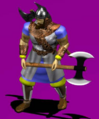 Throwing Axeman render