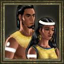 Aoe3 aztec vilager portrait