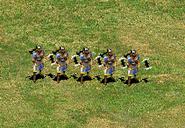 Grupo de Lanzadores de hachas