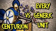 CENTURION vs EVERY GENERIC UNIT AoE II Definitive Edition