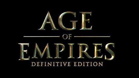 Age of Empires Definitive Edition Launch Trailer