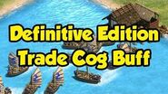 Trade Cog Buff in AoE2 Definitive Edition
