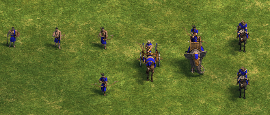 Archer units (Age of Empires)