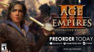 ''Age Of Empires III Definitive Edition'' Trailer
