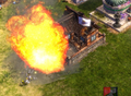 Petard blowing up