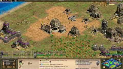 Aoe2 Expert Game - 4 Simultaneous 1v1s