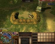 Redoubt Cannon in The Battle of Yorktown scenario