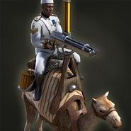 Gatling camel aoe3de portrait