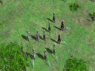 Iron Troop weapons