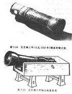 Yuan dynasty cannon 1332