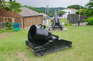 TOBAGO-fort-king-george-kanonen