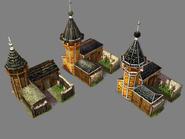 Russian Blockhouse