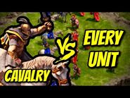 CAVALRY vs EVERY UNIT - Age of Empires- Definitive Edition