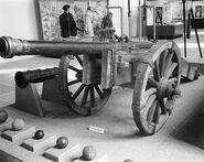 Falconet in the Peasants War Museum Muehlhausen