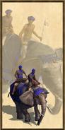 Mahout Lancer history portrait