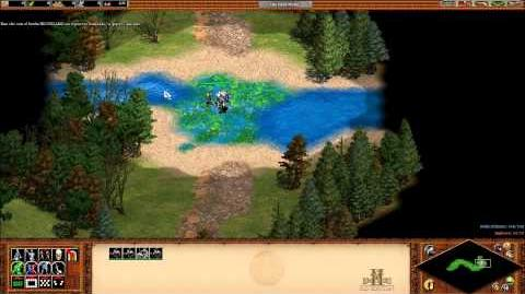 Age of Empires II; campaña 1 (William Wallace Campaña de aprendizaje), misión 1 (Marchar y luchar)