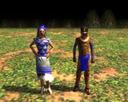 Aztec villager aoe3