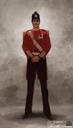 Colonel Edwardson concept art