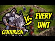 CENTURION vs EVERY UNIT - Age of Empires- Definitive Edition