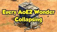 All AoE2 DE Wonders Collapsing