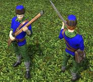 Skirmisher normal and veteran DE model